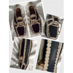 Chaussons & pantoufles Artisanat unique modèle  pas cher
