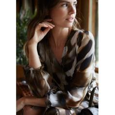 Robe mi-longue Lauren Vidal  pas cher