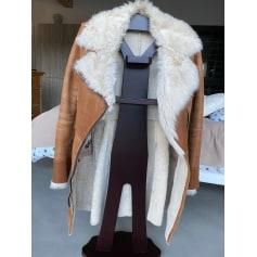 Manteau en cuir VENTCOUVERT  pas cher