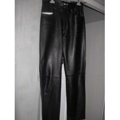 Pantalon droit D'ENVER LEATHER WEAR  pas cher