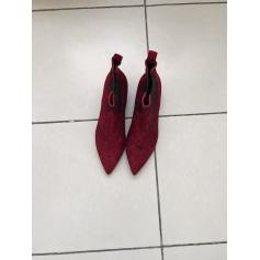 Bottines & low boots plates Janet & Janet  pas cher