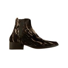 Bottines & low boots plates AudreyLBD  pas cher