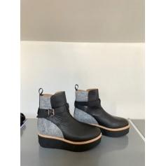 Bottines & low boots à compensés Flamingos  pas cher