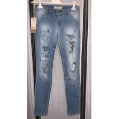 Jeans droit Met  pas cher