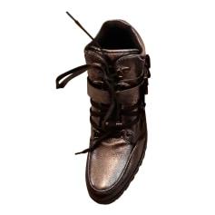 Bottines & low boots plates Cosmoparis  pas cher