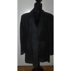 Manteau Also Cuir  pas cher