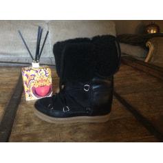 Bottines & low boots à compensés Isabel Marant Nowles pas cher
