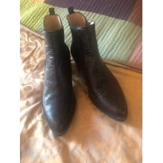Santiags, bottines, low boots cowboy Unisa  pas cher