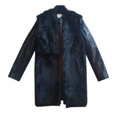 Manteau en cuir Vince  pas cher