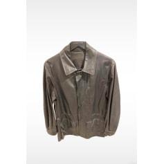 Leather Coat Louis Vuitton