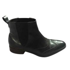 Bottines & low boots plates Eden Park  pas cher