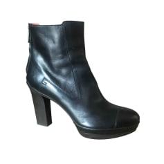 Bottines & low boots à talons Santoni  pas cher