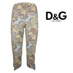 Pantalon slim, cigarette D&G  pas cher