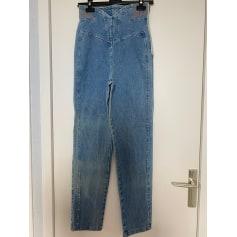 Jeans droit Julie  pas cher