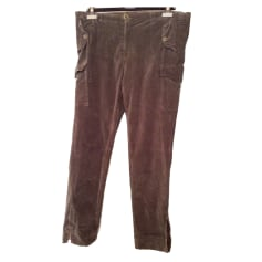 Pantalon slim, cigarette Desigual  pas cher