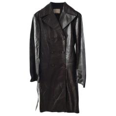 Manteau en cuir Façonnable  pas cher