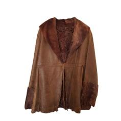 Veste en cuir Façonnable  pas cher