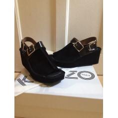 Sandales compensées Kenzo  pas cher