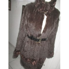 Manteau en fourrure Phanie Mode  pas cher