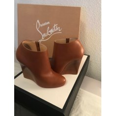 Wedge Ankle Boots Christian Louboutin