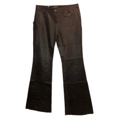 Pantalon très evasé, patte d'éléphant Barbara Bui  pas cher
