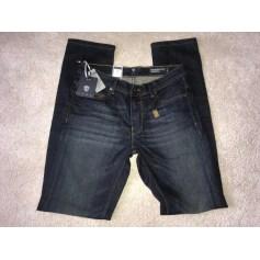 Jeans droit Izac  pas cher