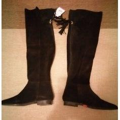 Overknee-Stiefel Zara
