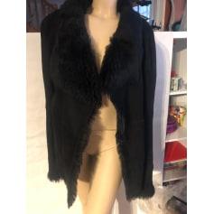 Manteau en cuir Gerard Darel  pas cher