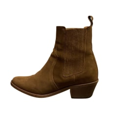 Santiags, bottines, low boots cowboy Anthology Paris  pas cher