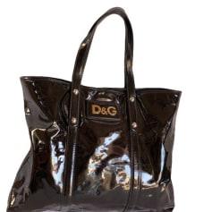 Sac XL en cuir Dolce & Gabbana  pas cher