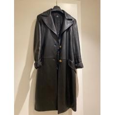 Manteau en cuir Versace  pas cher