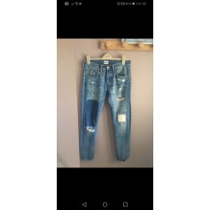 Jeans droit Edwin  pas cher