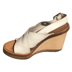 Sandales compensées Chloé  pas cher