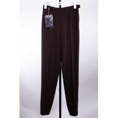 Pantalon droit Rochas  pas cher