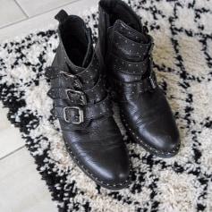 Bottines & low boots motards Minelli  pas cher