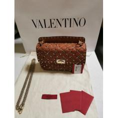 Schultertasche Leder Valentino Rockstud