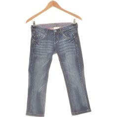 Jeans droit Bershka  pas cher