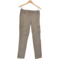 Pantalon droit Camaieu  pas cher