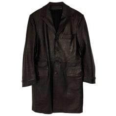 Leather Coat Smalto