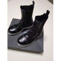 Santiags, bottines, low boots cowboy Dolce & Gabbana  pas cher
