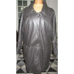 Manteau en cuir Lambartazzi  Italie  pas cher