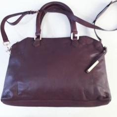 Leather Oversize Bag Galeries Lafayette