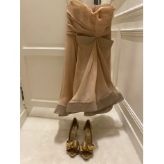Robe mi-longue Valentino  pas cher