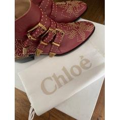 Bottines & low boots plates Chloé Susanna pas cher