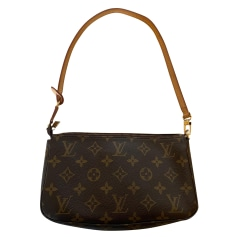 Handtasche Leder Louis Vuitton Pochette Accessoires NM