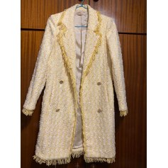 Manteau en cuir Alicia Rueda  pas cher