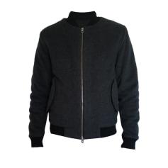 Zipped Jacket Drapeau Noir