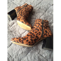 High Heel Ankle Boots Zara