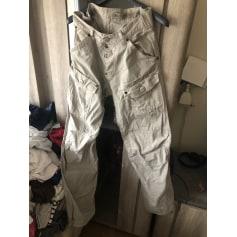 Pantalon évasé G-Star  pas cher