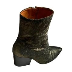 Santiags, bottines, low boots cowboy Iro  pas cher